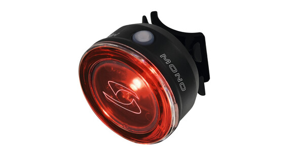 Sigma Mono LED-baglygte sort